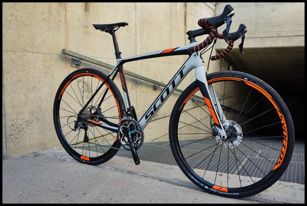 The 2016 Scott Addict Gravel Disc bike. Image courtesy of Scott Sports