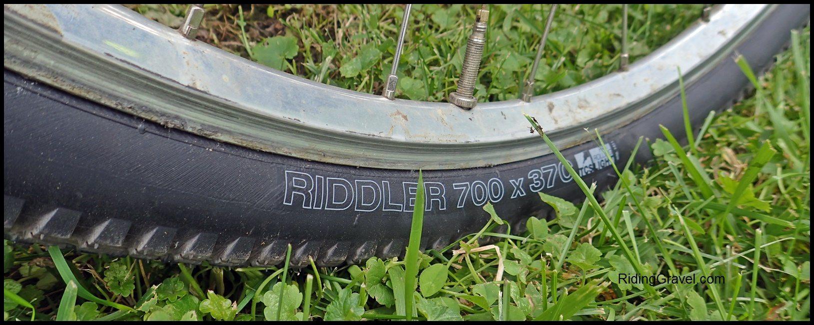 WTB Riddler 37mm Tires: Getting Rolling