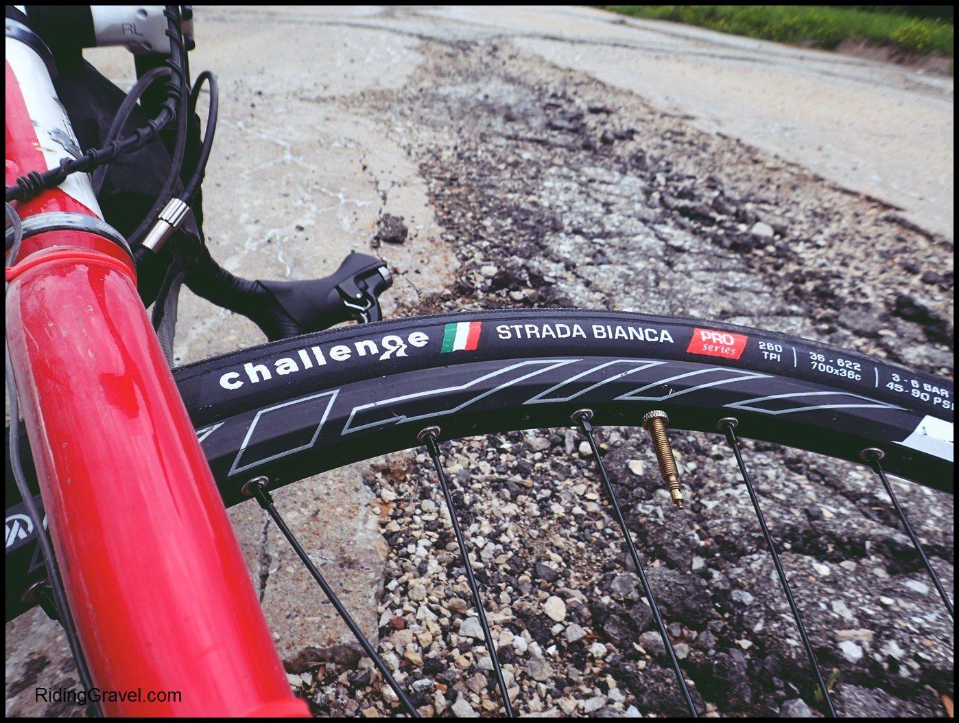Challenge Tires Strada Bianca 36 Tires: Getting Rolling
