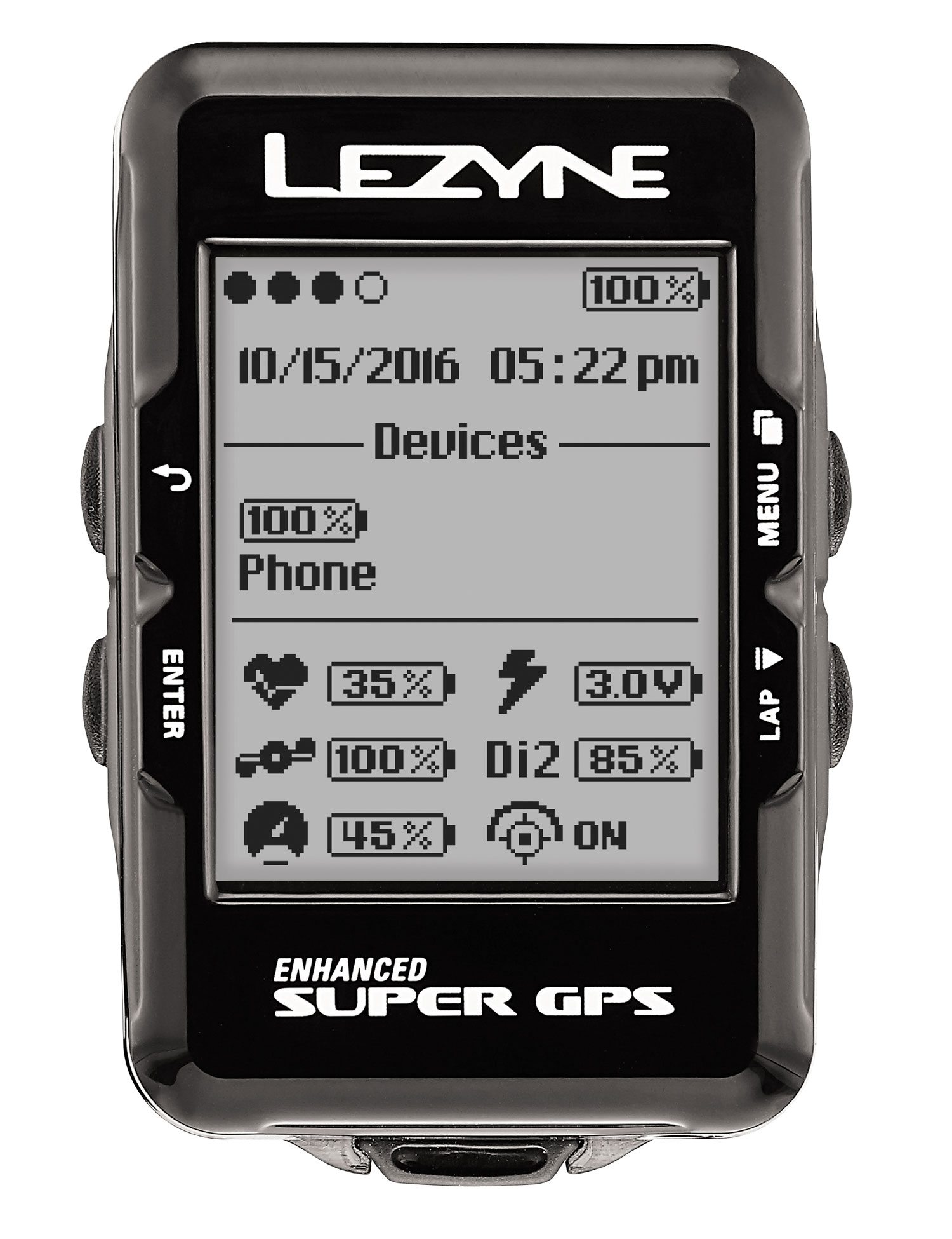 Lezyne Super GPS: Getting Rolling