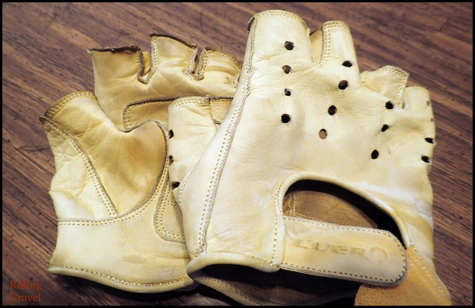 Cuero Leather Cycling Gloves: Quick Review