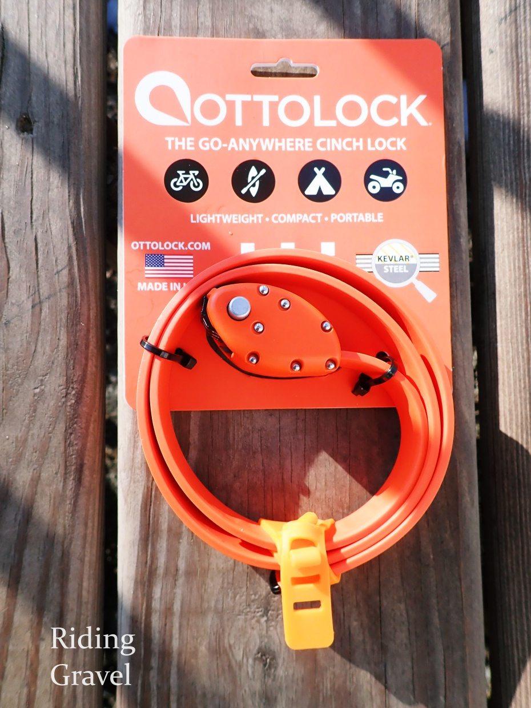 "Ottolock Cinch Combination Lock 30/"" Neon Orange"