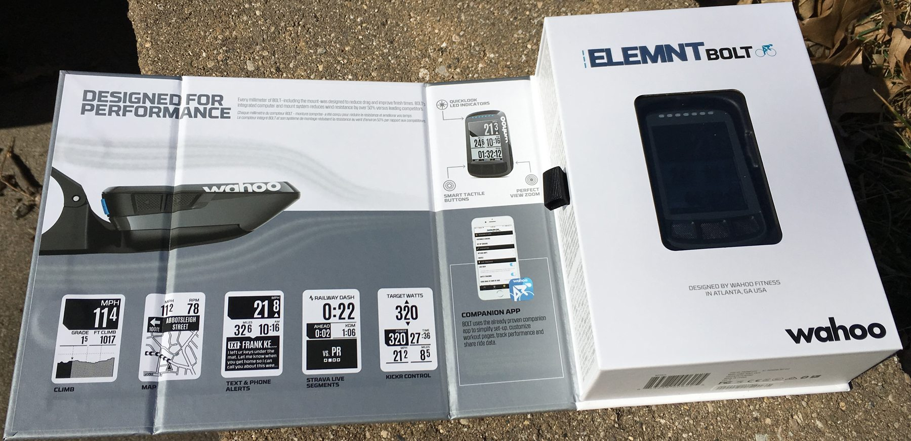 Wahoo Elemnt Bolt GPS Cycling Computer: Getting Rolling -