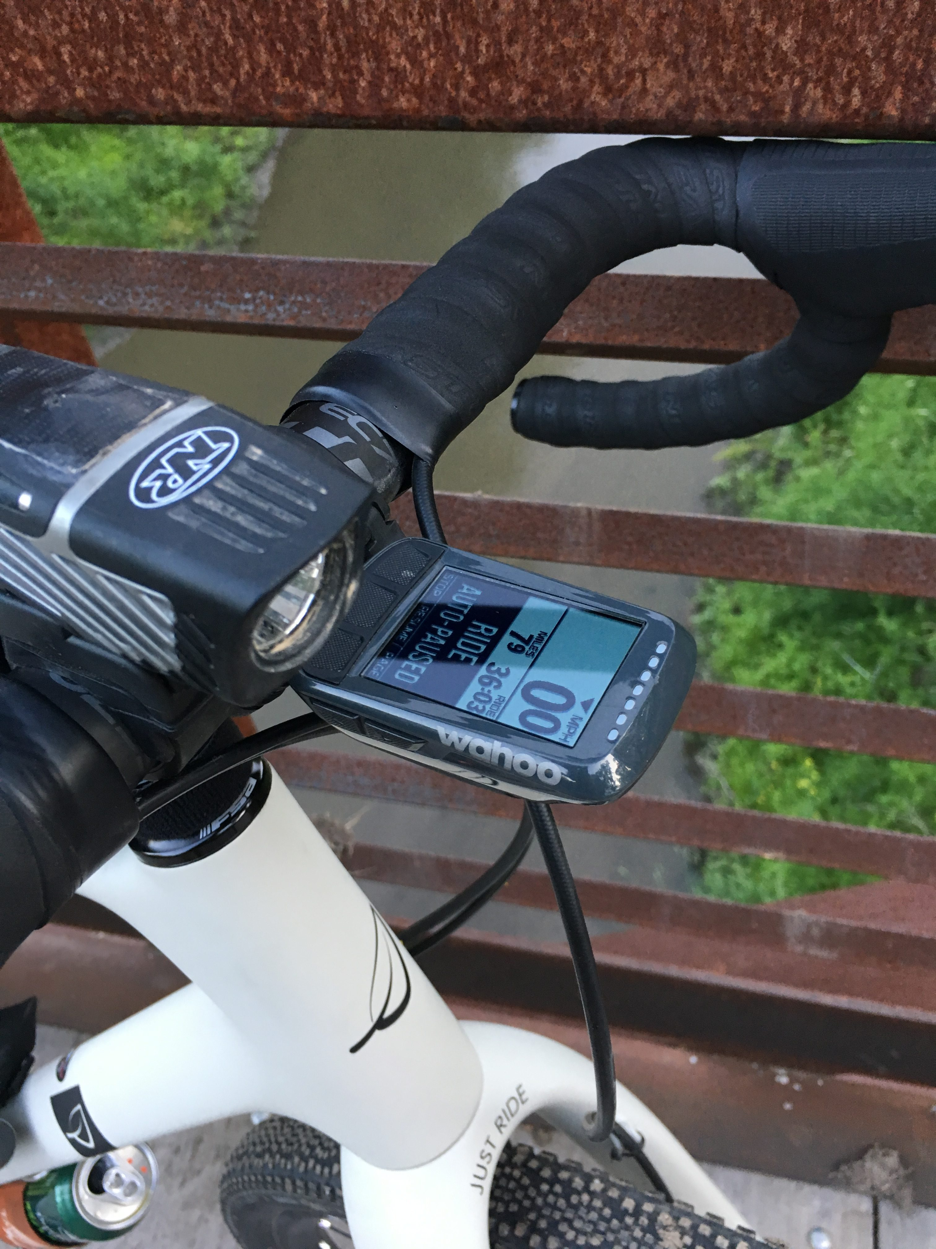 Wahoo Elemnt Bolt GPS Cycling Computer: At The Finish -