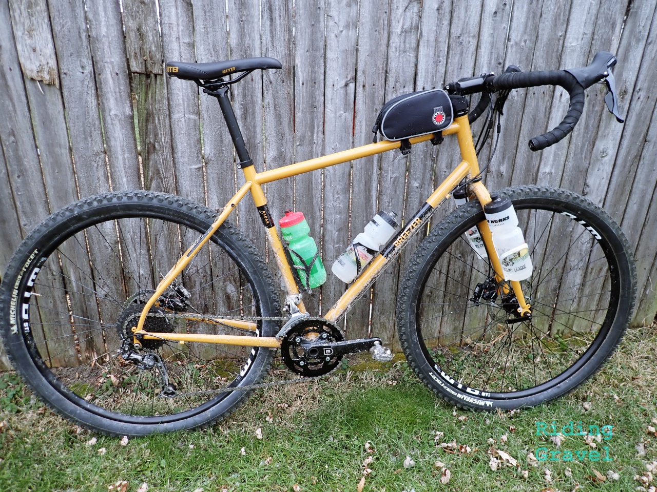 """76456cd89cf Breezer Bikes. Look for a report on what can be done with a simple tire  swap to the RADAR Expert in our """"At The Finish"""" post next time."""