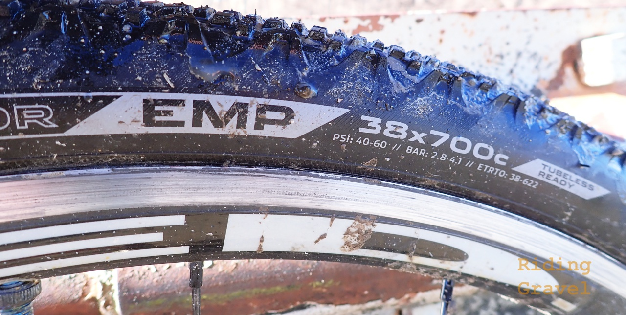 Donnelly EMP 700 X 38 Tires: Checkpoint