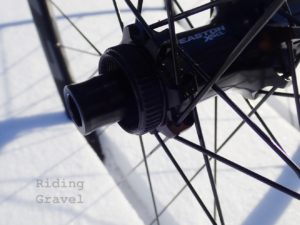 Easton EA70 AX hubs are Center Lock rotor compatible