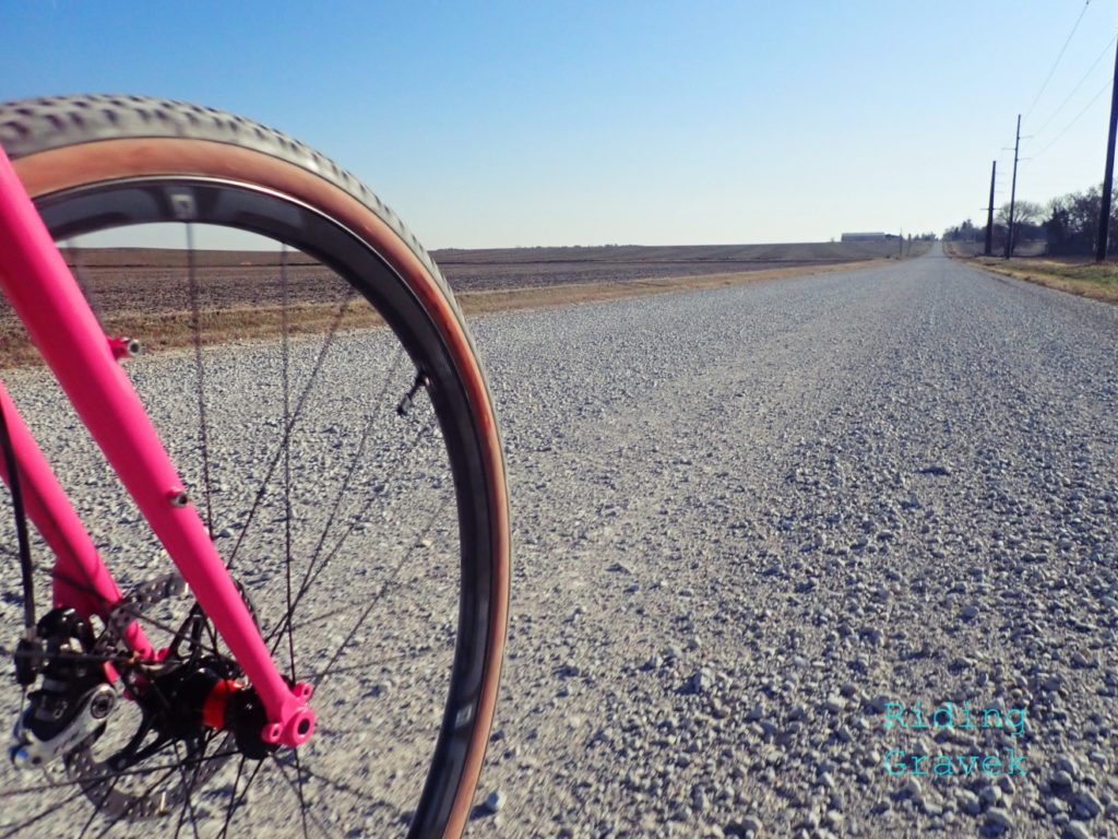 An image of the Enve G23 wheel on a gravel road