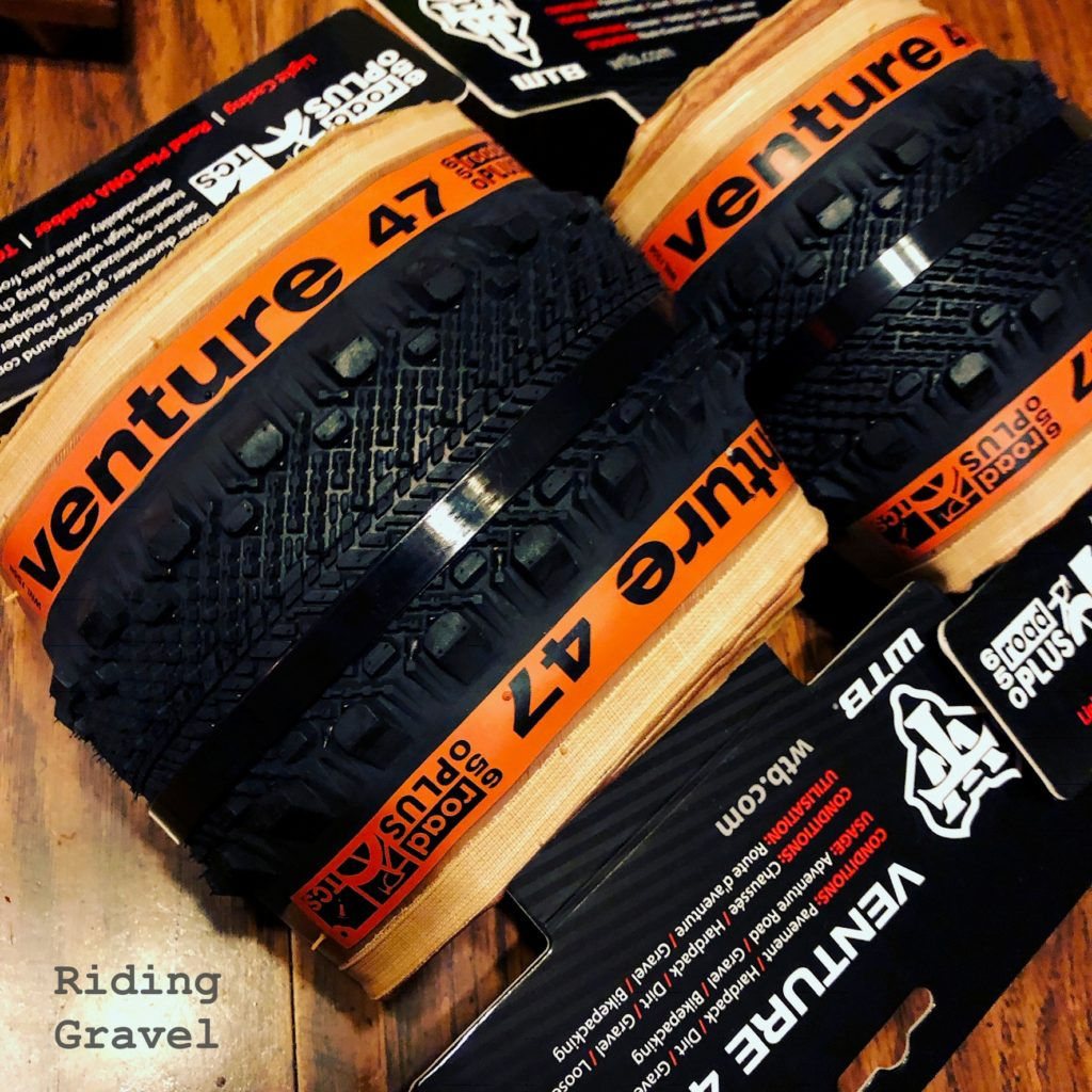 A new set of Wtb Venture 650B X 47mm tires