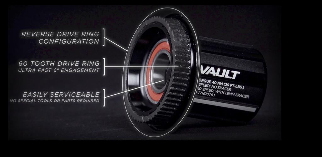 Vault hub detail