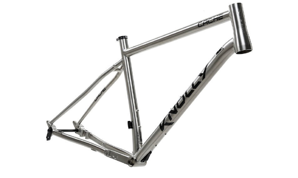 Titanium frame from Knolly Bikes