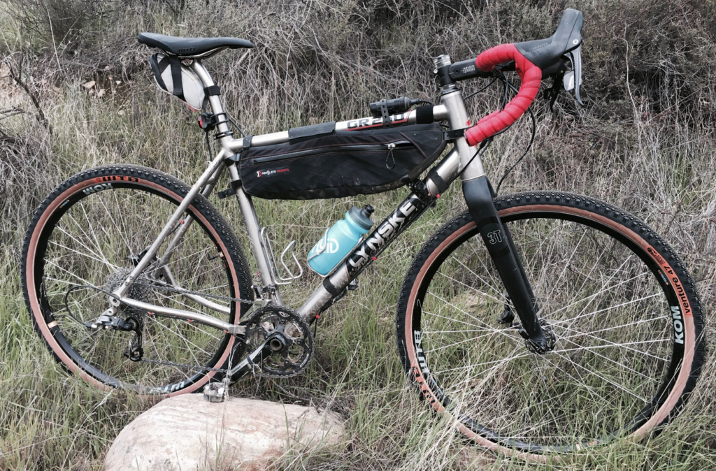 The Lynskey GR 250 set up with WTB Venture 650B X 47mm tires