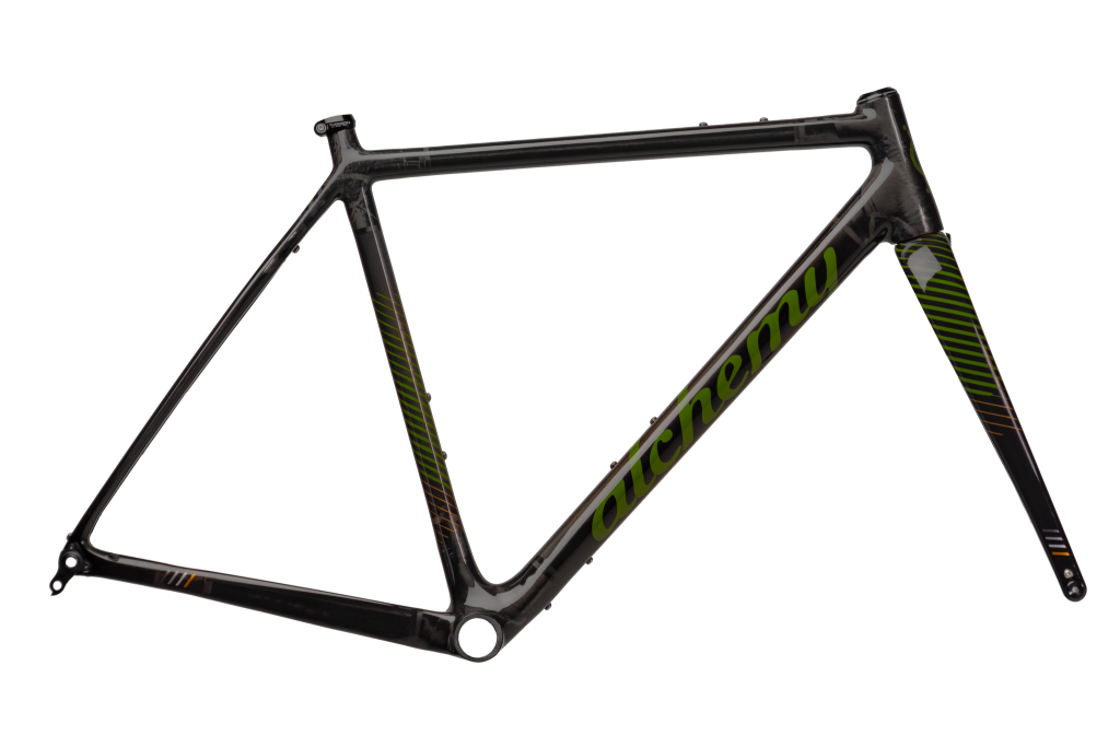 Ronin frame and fork in carbon