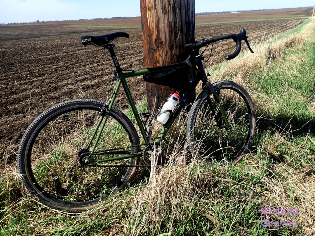Rural scene with the State Bicycle Co. Warhawk.