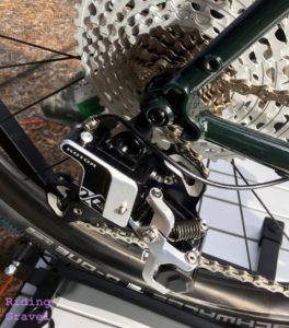 The Rotor hydraulic rear derailleur
