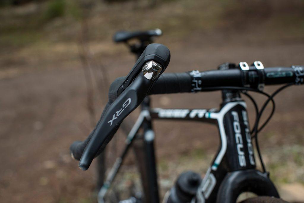 GRX lever close up