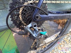 SRAM Force 1 derailleur on the GX5