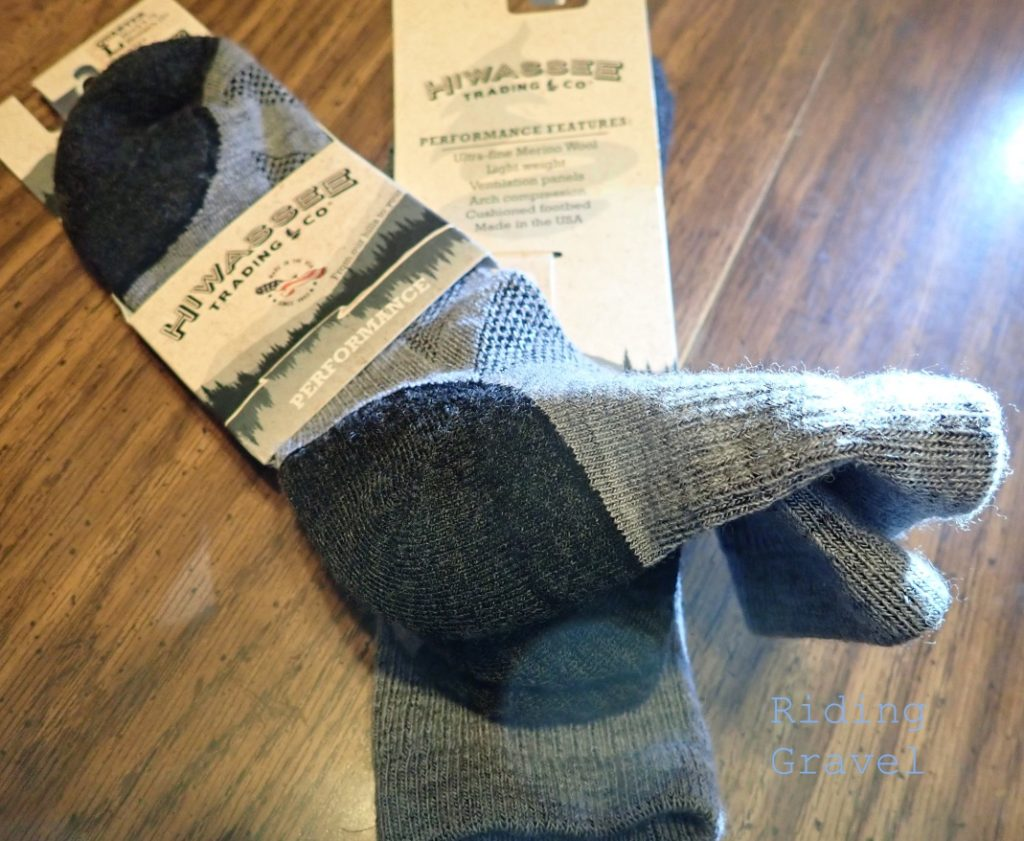Hiwassee Trading Company socks