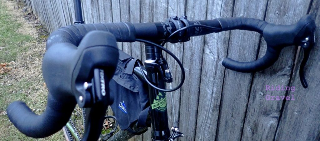 The EA70 AX handle bars mounted to a State Bicycle Co. Warhawk.