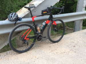 Cannondale Topstone Carbon on the road