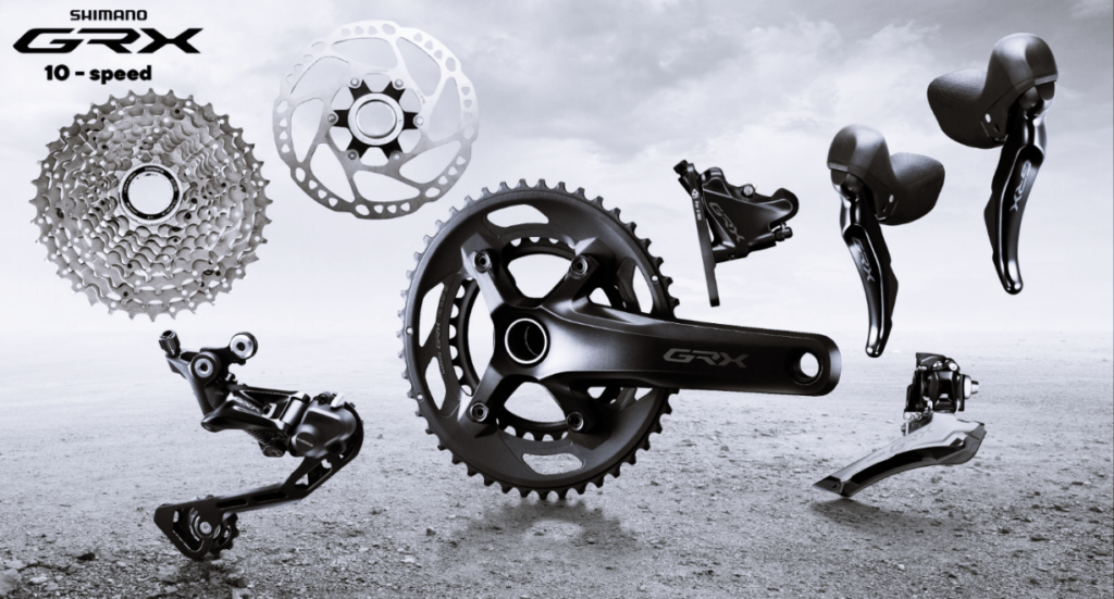 Shimano GRX 10 speed group