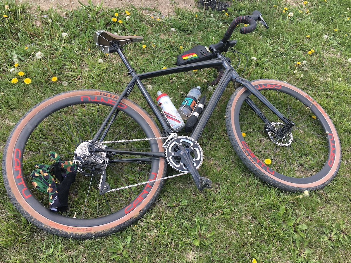 Cannondale Topstone 105: At The Finish
