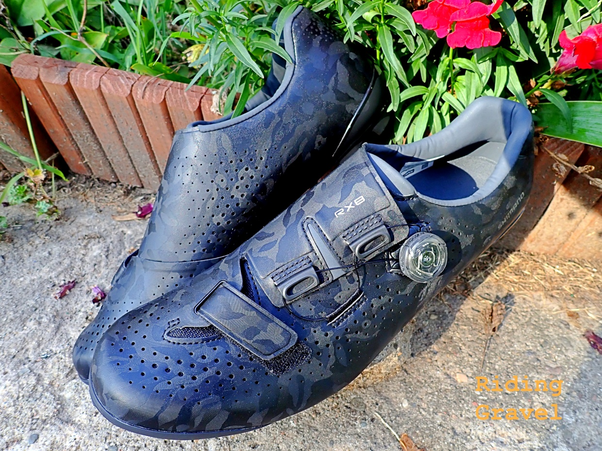 Shimano RX8 Gravel Shoes: Checkpoint