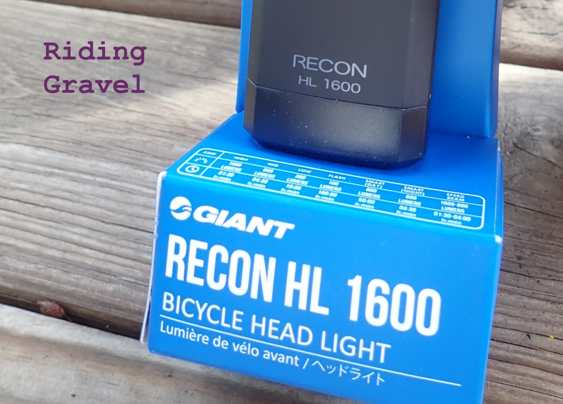 Giant Bicycles Recon HL 1600 Light: Getting Rolling