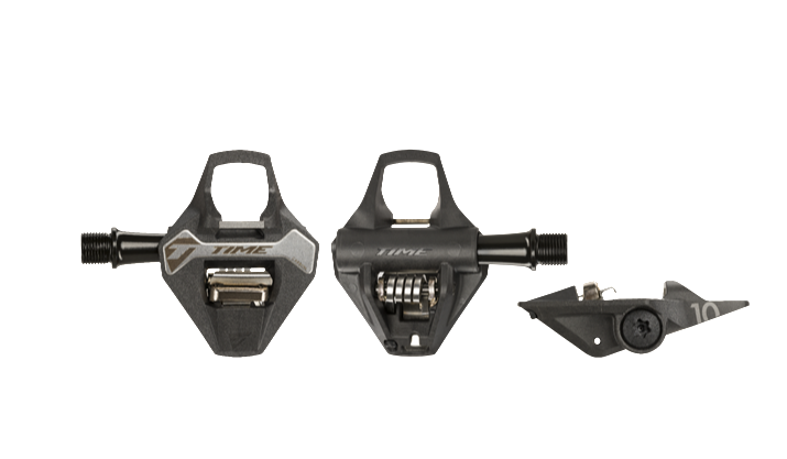 The new TIME Cyclo 10 carbon gravel pedals.