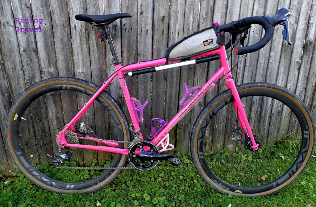 The Black Mountain Cycles MCD with Donnelly Strada USH tires.