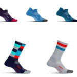Selection of Feetures socks