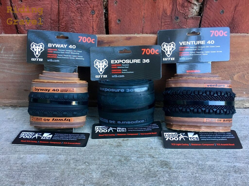 WTB Tires: Venture, Byway, and Exposure