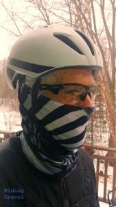 The author in a Bontrager Balista helmet