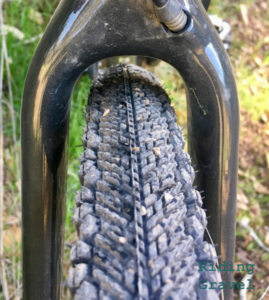 Detail of Venture 700c X 40mm tire